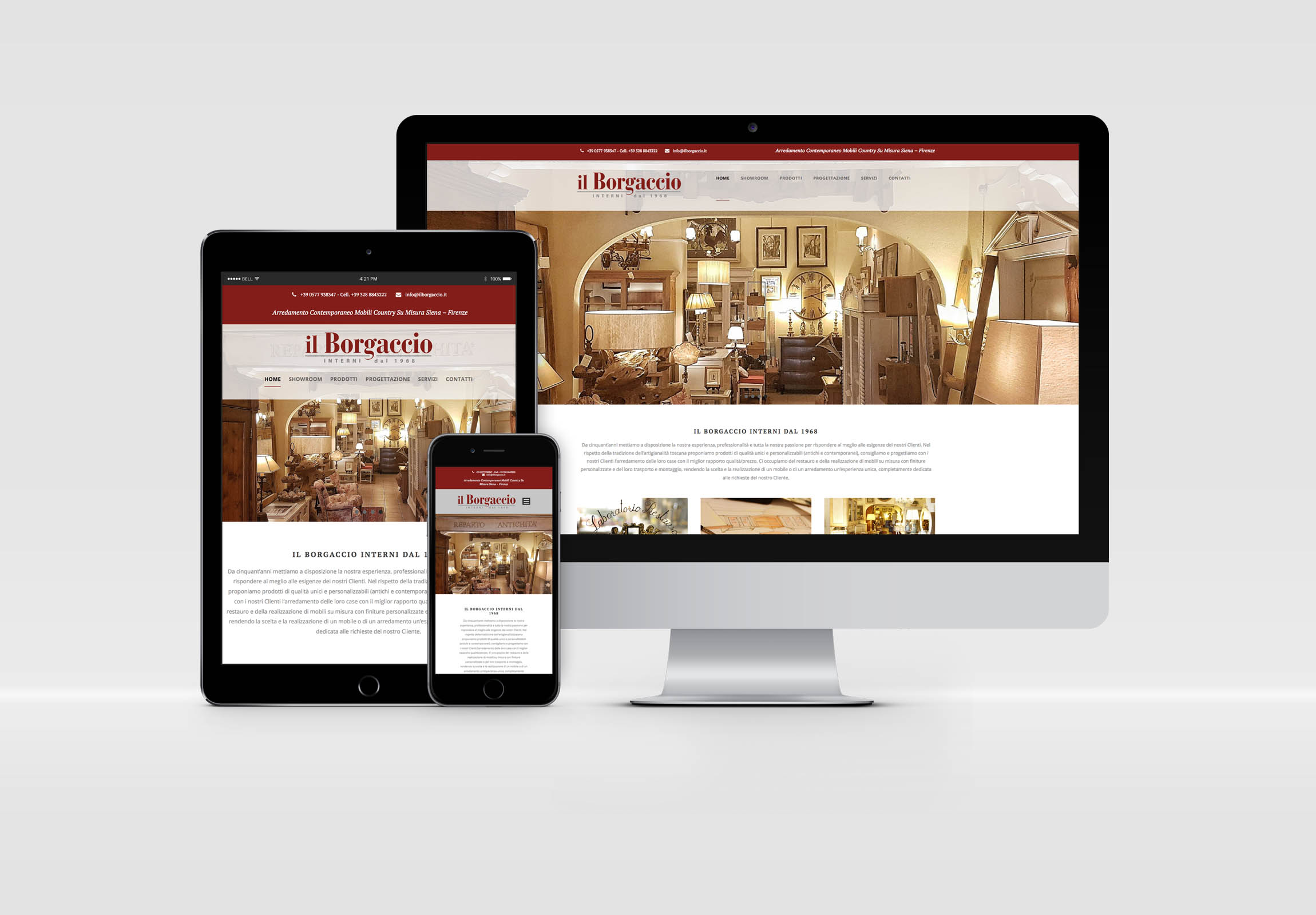 Il borgaccio interni grafica comunicazione siti web for Siti design interni