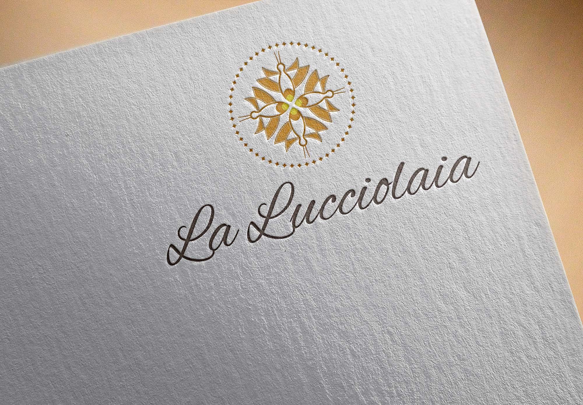 displaydesign marco bruni agriturismo la lucciolaia san gimignano carta da lettere