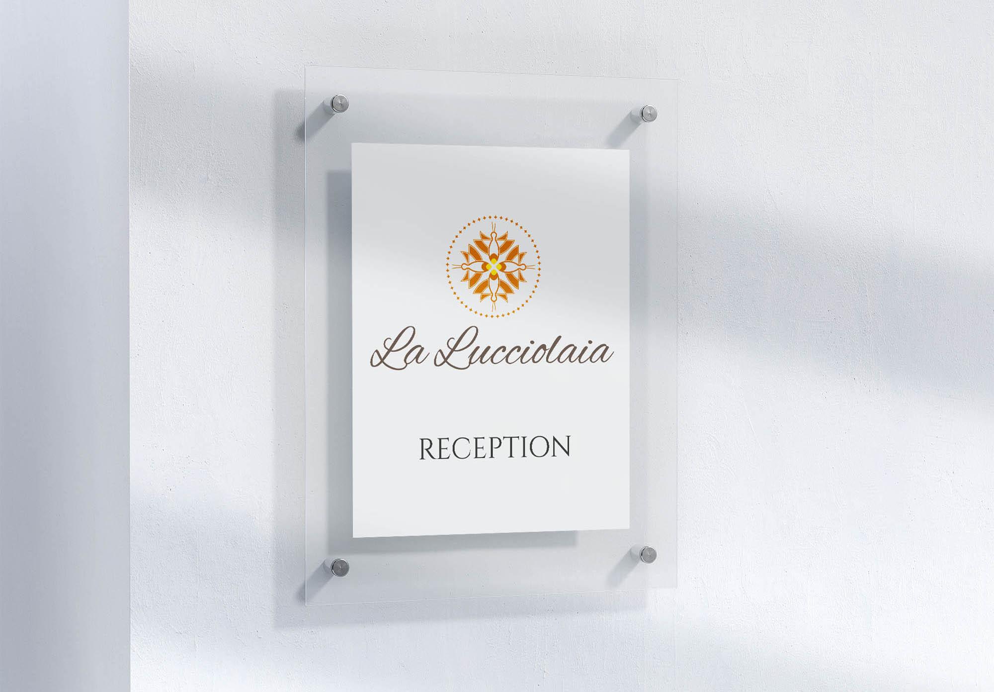 displaydesign marco bruni agriturismo la lucciolaia san gimignano reception